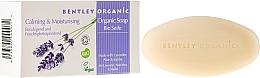 "Fragrances, Perfumes, Cosmetics Soap ""Moisturizing and Soothing"" - Bentley Organic Body Care Calming & Moisturising Soap Bar"