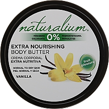 Fragrances, Perfumes, Cosmetics Body Oil - Naturalium Vainilla Extra Nourishing Body Butter