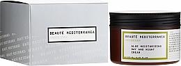 Fragrances, Perfumes, Cosmetics Aloe Vera Moisturizing Face Cream - Beaute Mediterranea Aloe Moisturizing Day And Night Cream