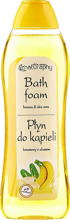 "Bubble Bath ""Banana & Aloe Vera"" - Bluxcosmetics Naturaphy Banana & Aloe Vera Bath Foam"