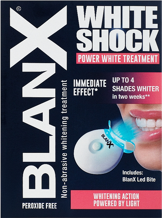 Toothpaste - BlanX White Shock Treatment + Led Bite