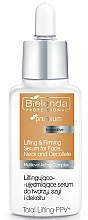 Fragrances, Perfumes, Cosmetics Face, Neck & Decollete Serum - Bielenda Professional Premium Total Lifting PPV+ Serum