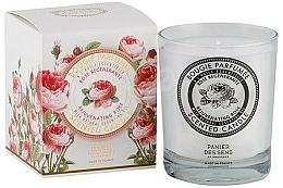 Fragrances, Perfumes, Cosmetics Panier Des Sens Rose - Scented Candle