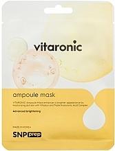 Fragrances, Perfumes, Cosmetics Radiance Sheet Mask - SNP Prep Vitaronic Ampoule Mask