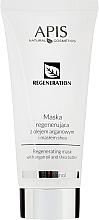 Fragrances, Perfumes, Cosmetics Argan Oil and Shea Butter Regenerating Mask - APIS Professional Regeneration Mask