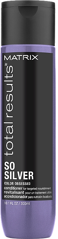 Antioxidant Colored Hair Conditioner - Matrix Total Results Color Obsessed So Silver Conditioner