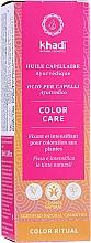 Fragrances, Perfumes, Cosmetics Ayurvedic Hair Oil - Khadi Ayurvedic Color Care Hair Oil