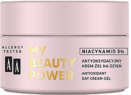 Antioxidant Day Face Cream-Gel - AA My Beauty Power Niacynamid 5% Antioxidant Day Cream-Gel — photo N2