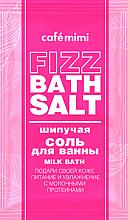 """Fragrances, Perfumes, Cosmetics Fizz Bath Salt """"Milk Bath"""" - Cafe Mimi Fizz Bath Salt"""
