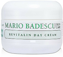 Fragrances, Perfumes, Cosmetics Day Cream for Dry Skin - Mario Badescu Revitalin Day Cream