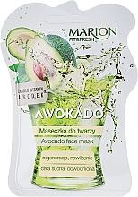 """Fragrances, Perfumes, Cosmetics Facial Mask """"Avocado"""" - Marion Fit & Fresh Avocado Face Mask"""