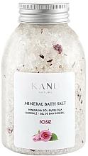 "Fragrances, Perfumes, Cosmetics Mineral Bath Salt ""Rose"" - Kanu Nature Rose Mineral Bath Salt"