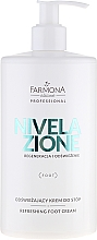 "Fragrances, Perfumes, Cosmetics Foot Cream ""Nivelaxione"" - Farmona Professional Nivelazione"
