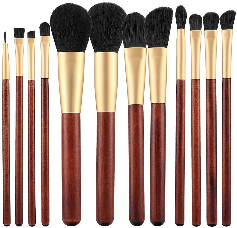 Makeup Brush Set, 12 pcs - Tools For Beauty