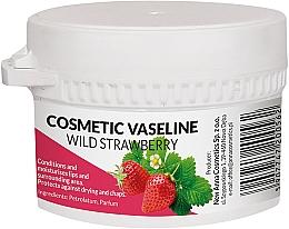 Fragrances, Perfumes, Cosmetics Face Cream - Pasmedic Cosmetic Vaseline Wild Strawberry