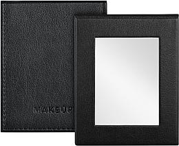 Fragrances, Perfumes, Cosmetics Folding Pocket Mirror, black - MakeUp Pocket Mirror Black
