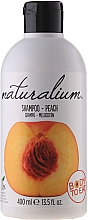 "Fragrances, Perfumes, Cosmetics Hair Shampoo ""Peach"" - Naturalium Shampoo And Conditioner Peach"