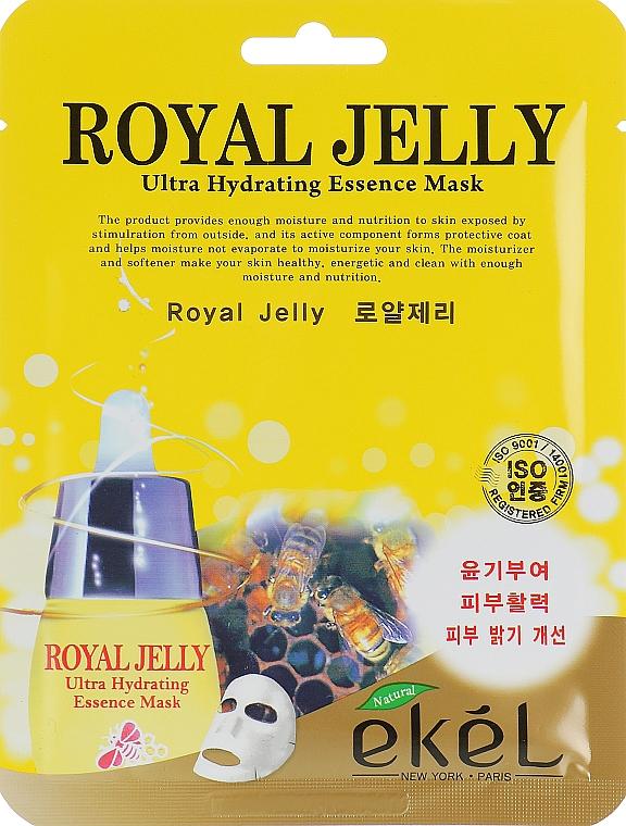 Nourishing Royal Jelly Sheet Mask - Ekel Royal Jelly Hydrating Essence Mask