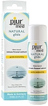 Fragrances, Perfumes, Cosmetics Water-Based Lubricant - Pjur Med Natural Glide