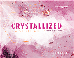 Eyeshadow Palette - Catrice Crystallized Rose Quartz Eyeshadow Palette — photo N1