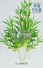 Fragrances, Perfumes, Cosmetics Tea Tree Face Sheet Mask - The Saem Natural Tea Tree Mask Sheet