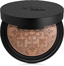 Fragrances, Perfumes, Cosmetics Bronzing Powder - Aden Cosmetics Glowing Bronzing Powder
