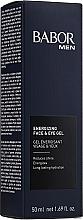 Fragrances, Perfumes, Cosmetics Energizing Face & Eye Gel - Babor Men Energizing Face & Eye Gel