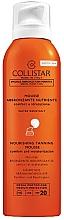 Fragrances, Perfumes, Cosmetics Sun Mousse - Collistar Abbronzante Nutriente Mousse SPF 20