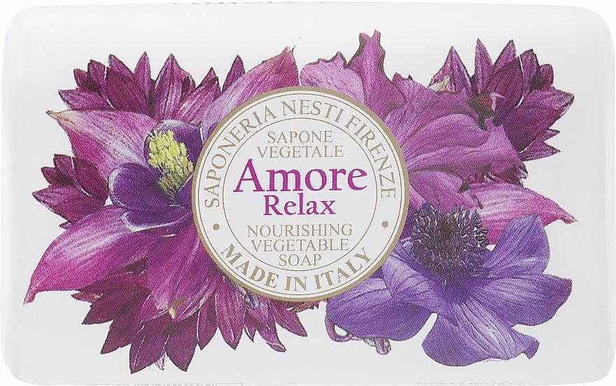 Lavender, Citrus & Amber Soap - Nesti Dante Amore Relax Nourishing Vegetable Soap