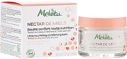 Fragrances, Perfumes, Cosmetics Nourishing Face Balm - Melvita Nectar de Miels Baume Confort Haute Nutrition