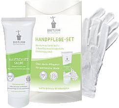 Fragrances, Perfumes, Cosmetics Set for Hands - Bioturm Hand Care Set (cr/50ml + gloves)
