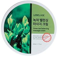 Fragrances, Perfumes, Cosmetics Massage Balancing Tea Tree Cream - Lebelage Green Tea Balancing Massage Cream