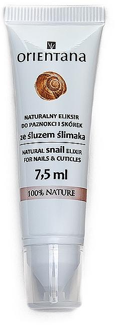 Nail Elixir - Orientana Natural Snail Elixir For Nails&Cuticles