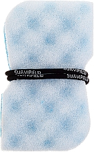 Fragrances, Perfumes, Cosmetics Blue Massage Sponge - Suavipiel Black Aqua Power Massage Sponge