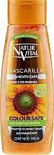 Fragrances, Perfumes, Cosmetics Hair Color Preserving Mask for Color-Treated Hair - Natur Vital Coloursafe Henna Hair Mask Blonde Hair