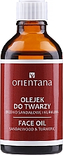 "Fragrances, Perfumes, Cosmetics Face Oil ""Sandalwood and Turmeric"" - Orientana Face Oil Sandalwood & Turmeric"