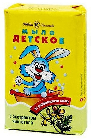 Kids Celandines Soap - Nevskaya kosmetika