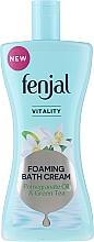 "Fragrances, Perfumes, Cosmetics Bath Cream ""Pomegranate Oil & Green Tea"" - Fenjal Vitality Pomegranate Oil & Green Tea Foaming Bath Cream"