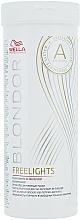 Fragrances, Perfumes, Cosmetics White Bleaching Highlighting Powder - Wella Professionals Blondor Freelights