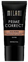 Fragrances, Perfumes, Cosmetics Correcting Primer - Milani Prime Correct Diffuses Discoloration + Pore-minimizing Face Primer Medium/Dark