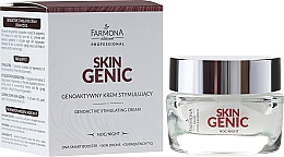Fragrances, Perfumes, Cosmetics Genoactive Stimulating Night Cream - Farmona Professional Skin Genic