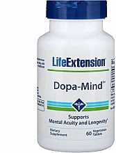 """Fragrances, Perfumes, Cosmetics Dietary Supplement """"Mental Acuity & Longevity Support"""" - Life Extension Dopa-Mind"""