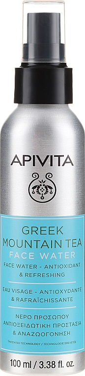 """Antioxidant and Refreshing Face Water """"Greek Mountain Tea"""" - Apivita Greek Mountain Tea Face Water"""