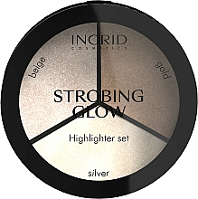 Fragrances, Perfumes, Cosmetics Strobing Palette - Ingrid Cosmetics Strobing Glow Palette
