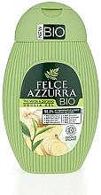 Fragrances, Perfumes, Cosmetics Green Tea & Ginger Shower Gel - Felce Azzurra BIO Creen Tea&Ginger Shower Gel