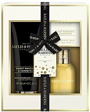 Fragrances, Perfumes, Cosmetics Set - Baylis & Harding Sweet Mandarine and Grapefruit (b/lot/125ml + b/wash/100ml + soap/40g)