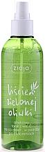 "Fragrances, Perfumes, Cosmetics Vitamin C Toning Water ""Olive Leaves"" - Ziaja Olive Leaf Water"