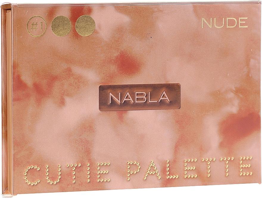 Eyeshadow Palette - Nabla Cutie Collection Palette Nude