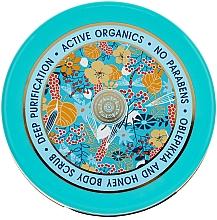 "Fragrances, Perfumes, Cosmetics Sea Buckthorn with Buckwheat Honey Body Scrub ""Deep Exfoliation"" - Natura Siberica"