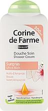 "Fragrances, Perfumes, Cosmetics Shower Cream ""Almond"" - Corine De Farme Shower Cream"